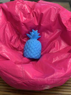 Kids Beanbag And Pineapple Lamp for Sale in Yakima,  WA