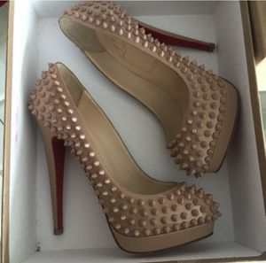 Brand New in Box Christian Louboutin Spiked Nude Heels for Sale in Miami, FL