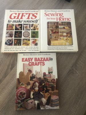 Better homes and gardens vintage books lot of 3 for Sale in San Bernardino, CA