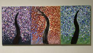 Acrylic knife palatte painting for Sale in Fairfax, VA