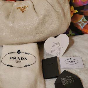 3 Bags In One!! Prada Deerskin /Nylon Bag & Matching Wallet for Sale in Las Vegas, NV