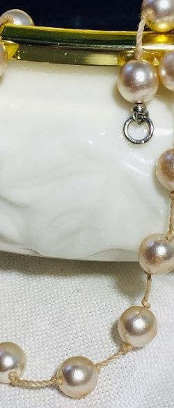 Vintage pearl necklace. This necklace has been in our family for at least 50 years, which I remember. It belonged to my great grandmother. They wer for Sale in Hopedale,  MA