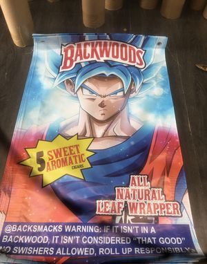 "Backwoods poster dragon ball Z 27""X15"" for Sale in Irvine, CA"