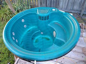 Hot tub and gas heater for sale. Great shape for Sale in Virginia Beach, VA