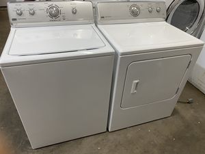 Maytag centennial washer and Maytag centennial electric dryer for Sale in Lewisville, TX