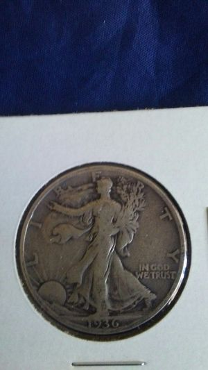SILVER COIN 1936 s Walking Liberty Half Dollar for Sale in El Monte, CA