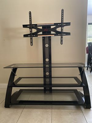 "TV Stand Z-Line Design 37""- 80"" Flat Panel Black for Sale in Hialeah, FL"