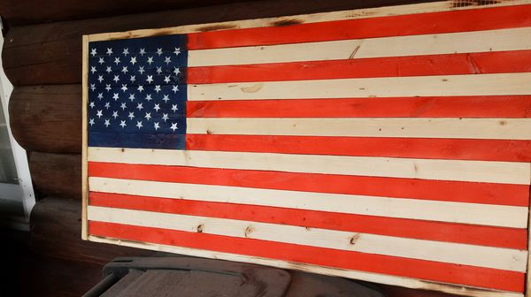 Burnt American flag for Sale in Indianapolis, IN - OfferUp
