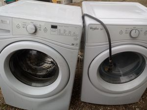 Whirlpool washer and dryer match set for Sale in Colorado Springs, CO
