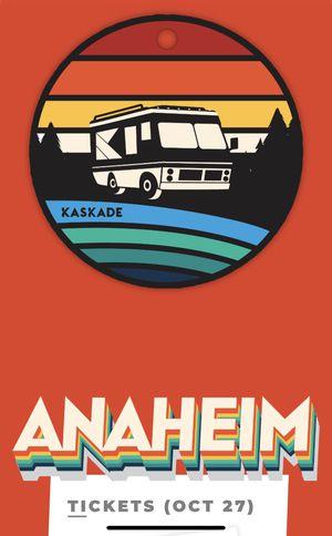 Kaskade in Anaheim Tuesday 10/27 for Sale in Yorba Linda, CA