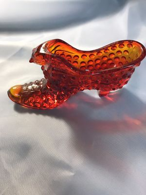 Vintage~Collectable~Red Glass Shoe for Sale in Charlotte, NC