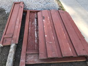 Free redwood Gate and fence - for Sale in Fremont, CA