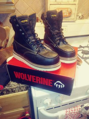 Wolverine boots size 9 M steeltoe for Sale in San Diego, CA
