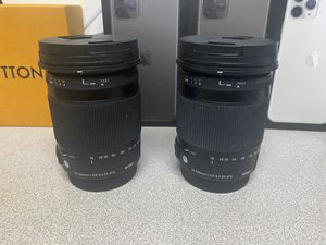Canon lens- sigma 18-300mm for Sale in Marietta, GA