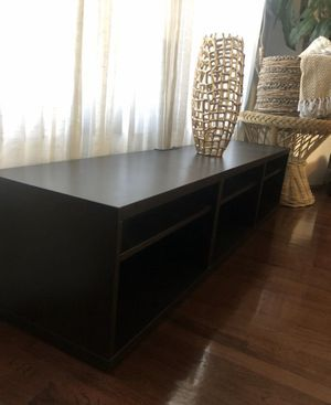 70 inch entertainment center BLACK/BROWN for Sale in Los Angeles, CA
