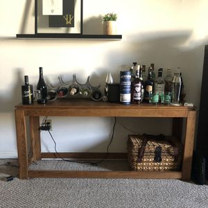 Contemporary bar table and matching coffee table for Sale in Los Angeles, CA