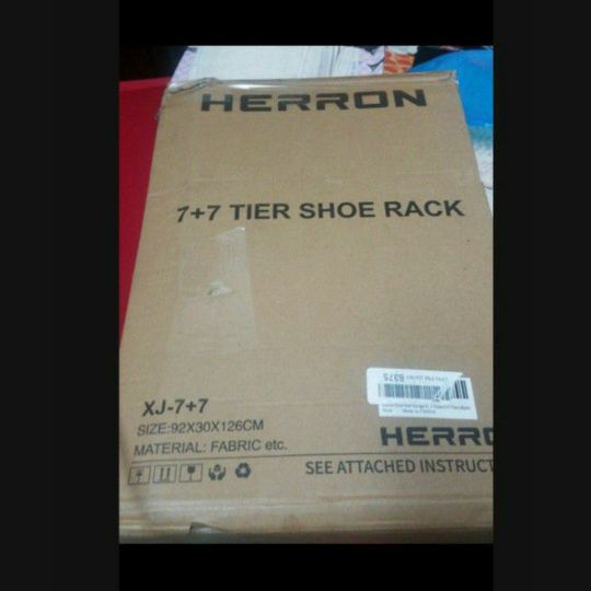Heron Tier Shoe Rack