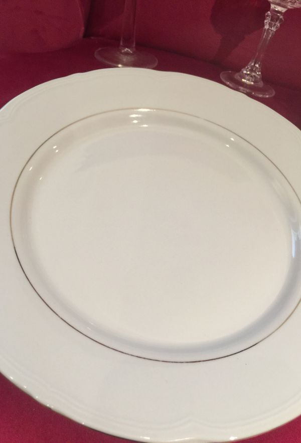 Formal China 4-piece place setting (set of 6)
