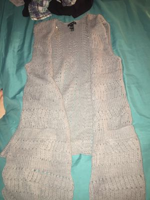 Small sleeveless F.A.N.G Cardigan for Sale in Appomattox, VA