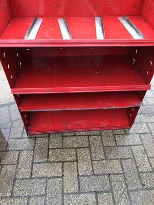 Industrial metal adjustable shelving base with dividers for Sale in Alsip, IL