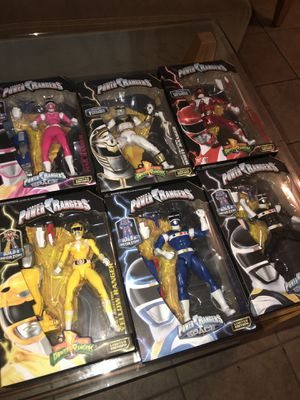 Power Rangers Limited Edition Action Figures. for Sale in Phoenix, AZ