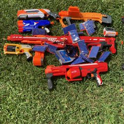Nerf Guns And Bullets for Sale in Delray Beach,  FL