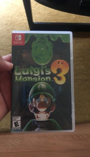 Luigis Mansion Nintendo Switch for Sale in Oakland, CA