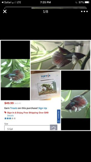 Topfin Fish Tank Aquarium for Sale in Scotts Valley, CA