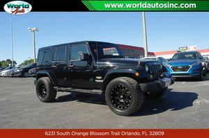 2012 Jeep Wrangler Unlimited for Sale in Orlando, FL