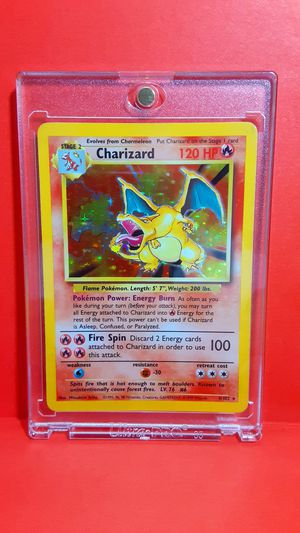CHARIZARD 1990's CARD POKEMON HOLOGRAPHIC GREAT CONDITION for Sale in Houston, TX