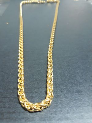 18K GOLD PLATED FRANCO for Sale in Houston, TX