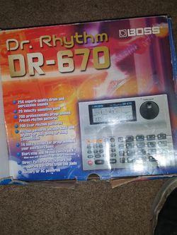 Boss Dr Rythem 670 Drum Machine for Sale in Aberdeen,  WA