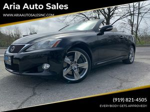 2010 Lexus IS 350C for Sale in Raleigh, NC