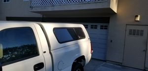 Camper shell and custom bedliner for Sale in San Diego, CA