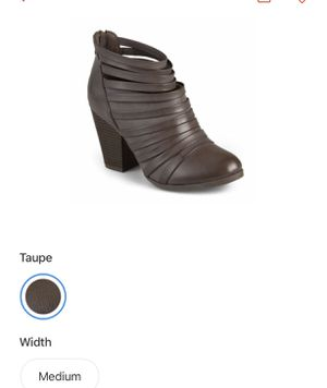 Women's new ankle boots 7 1/2 for Sale in Brook Park, OH