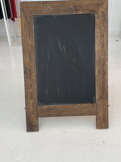 Chalk Board Sidewalk Sign Freestanding for Sale in Brooklyn,  NY