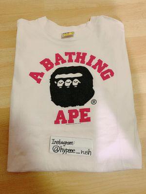 Bape A Bathing Ape Tee Size L (White) for Sale in Walnut, CA