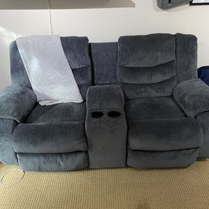 Double Recliner Couch for Sale in Beaverton, OR