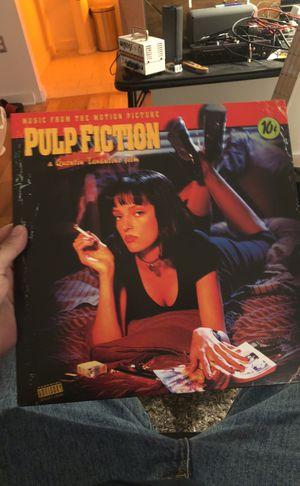PULP FICTION VINYL SOUNDTRACK for Sale in Nashville, TN
