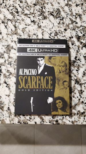 Scarface 4K and Blu-ray for Sale in Richmond, TX