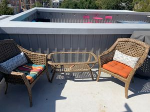 Whole set of outdoor furniture w/pillows! for Sale in Philadelphia, PA