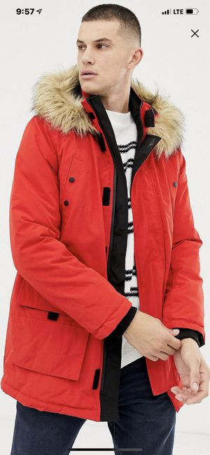 Parka Bright Red Jacket for Sale in Miami, FL