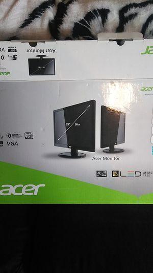 """Acer """"23 inch VGA Compatible FULL HD 1920x1080 FHD DVI for Sale in Murfreesboro, TN"""