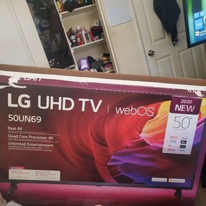 Lg Uhd TV Web Os Tru 4k 50' for Sale in March Air Reserve Base, CA