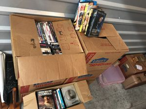 6 plus boxes of dvds for Sale in Renton, WA