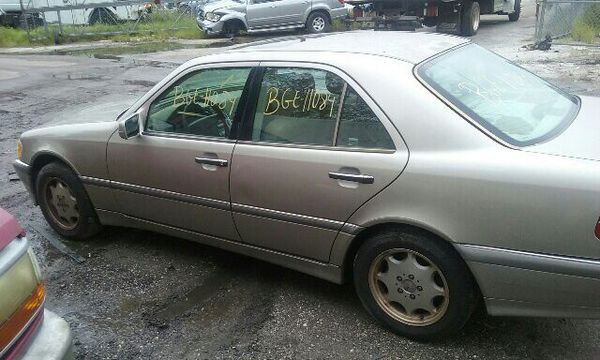 1999 MERCEDES C-280, 2.8L, AUTOMATIC TRANSMISSION, PARTS ONLY, #BGE-11084