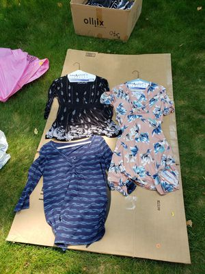 Maternity/nursing shirts and dress S/M for Sale in Tewksbury, MA
