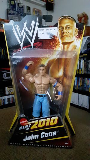 WWE Best Of 2010 - John Cena Action Figure for Sale in Durham, NC