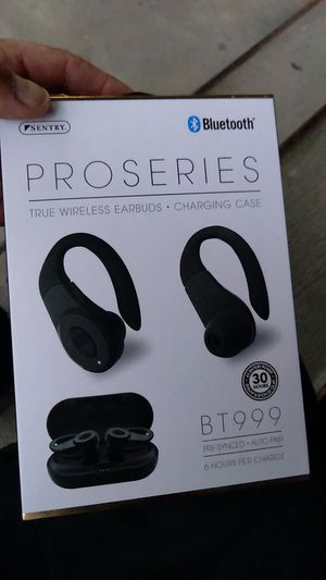 Sentry pro series true wireless earbuds..new never opened for Sale in Boston, MA