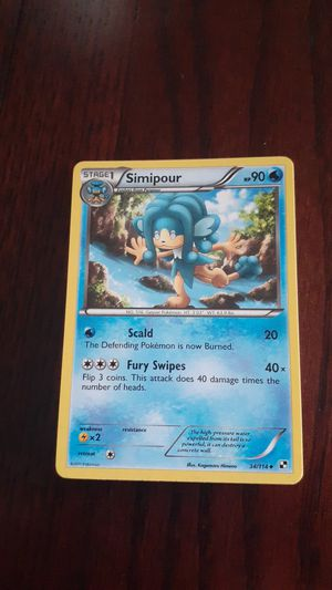 24 pokemon cards Simipour for Sale in Stanton, CA